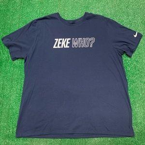 Nike Ezekiel Elliott Dallas Cowboys Football Shirt